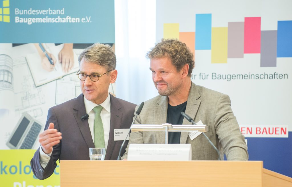 """Fachtagung """"Soziale Ausrichtung von Baugemeinschaften. Bildnachweis: BSW/Bente Stachowske"""