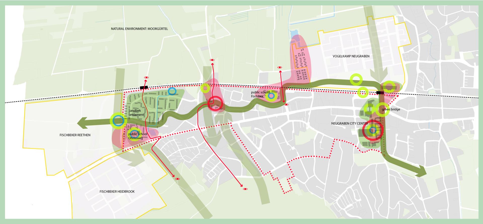 CLEVER Cities Projektgebiet in Neugraben-Fischbek