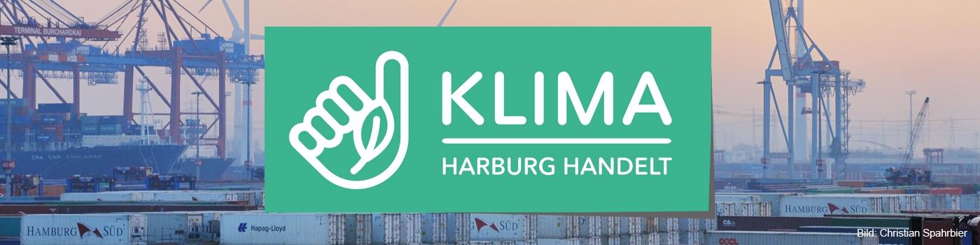 Containerhafen / Windkraftraeder / container terminal / wind tur